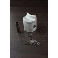 CLEAN! Mercury Mariner Standard 2-Ring Piston with Hardware C# 745-4973