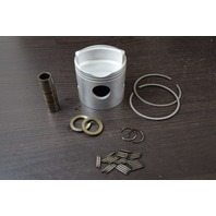 CLEAN! Mercury & Mariner 2-Ring Standard Piston Casting Number 768-7432 W/ Rings