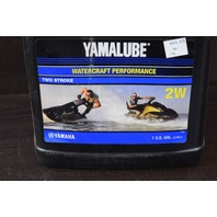 NEW Yamalube Watercraft Performance Two-Stroke 2W 1 Gallon