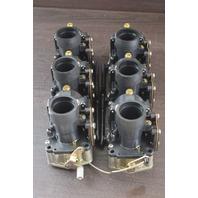REBUILT! 1994-96 Johnson Evinrude Carburetor Set w/Bodies 436696 105150 175 HP