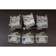 REBUILT! 1980-1981 Johnson Evinrude Carburetor Set 390401 390402 150 HP V6