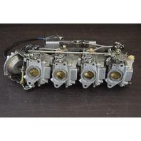 CLEAN!  Yamaha Carburetor Set C# 64J20 9KJ & 64J20 9KG 50 HP