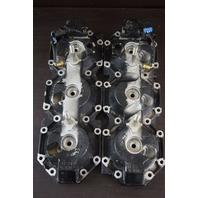 2000-08 Mercury Optimax Cylinder Head Set 858483T07 858485T07 200 225 HP V6
