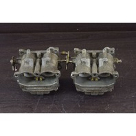 "REBUILT! Johnson Evinrude Carburetor Set 393194 393195 C# 328817 1-1/4"" Bore V6"