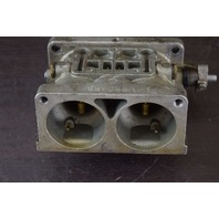 CLEAN! 1978-1985 Mercury Middle Carburetor Body 7563A3 WH-9 WH9 150 HP V6