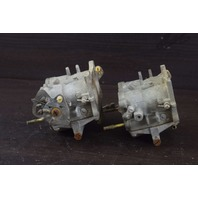 REBUILT! 1971 Johnson Evinrude Carburetor Set 384567 384568 C# 316710 125 HP V4