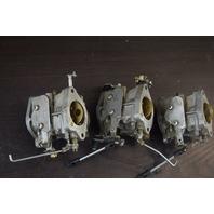 CLEAN!  Yamaha  Carburetor Set Casting #: 6H506 6H506BF12 6H506BF13