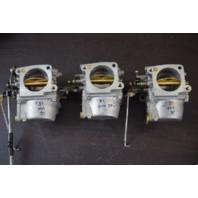 CLEAN! 1985-91 Yamaha  Carburetor Set 6H1-14301-15-00 6H1-14302-15-00 90HP