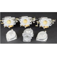 CLEAN! 1985-91 Yamaha  Carburetor Set 6H1-14301-15-00 6H1-14302-15-00 90HP