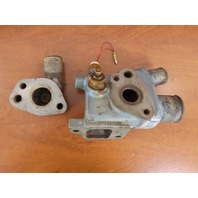 Yamaha Sterndrive 3.0 L4 Thermostat Housing Assembly Stamped 13-0813-00 30372