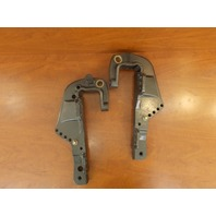 1995-97 Force Port & Starboard Clamp Bracket Set 821773F5 821774F5 40 50 HP