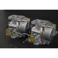 REBUILT 1998-2001 Johnson Evinrude Carburetor Set 439450 C# 339169 40 50 HP