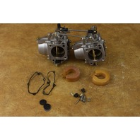 REFURBISHED! 1986-1992 Yamaha Mariner Carburetor Set 814564M 814565M 6E901 40 HP