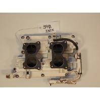 Johnson Evinrude Intake Manifolds w/ Reeds 389533 389824 1979 85 100 115 140 HP