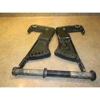 1988-1991 Force Transom Bracket Set F684032 F684532 25 35 50 HP 2 Cylinder