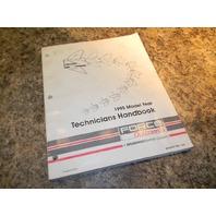 Force 1995 Model Year Technicians Handbook 823871950
