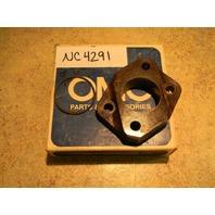 New Johnson Evinrude OMC Insulating Block and O Ring 386634