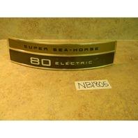 NEW OMC Johnson Evinrude Super Sea Horse Applique 381919