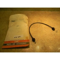NEW OMC Johnson Evinrude Starter Lock Out Cable 390455 1981-2005 20 25 30 35 HP
