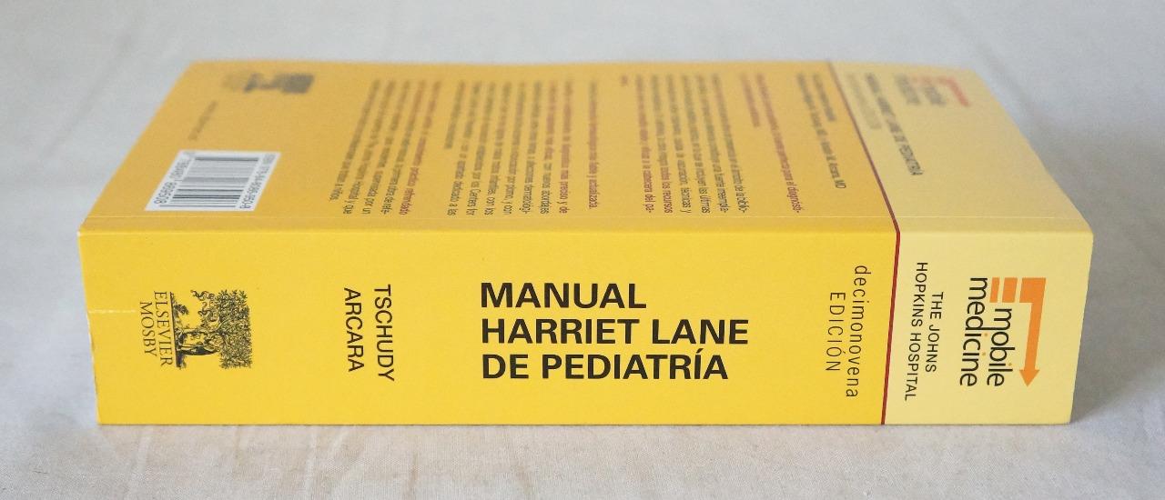 THE JOHNS HOPKINS MANUAL HARRIET LANE DE PEDIATRIA SPANISH 978-8480869508