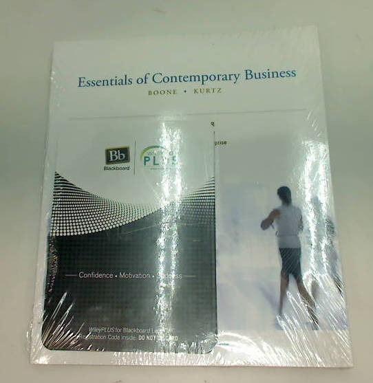 WILEY ESSENTIALS OF CONTEMPORARY BUSINESS BOONE KURTZ