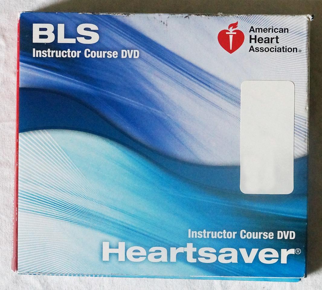 AMERICAN HEART ASSOCIATION BLS HEARTSAVER INSTRUCTOR COURSE DVD