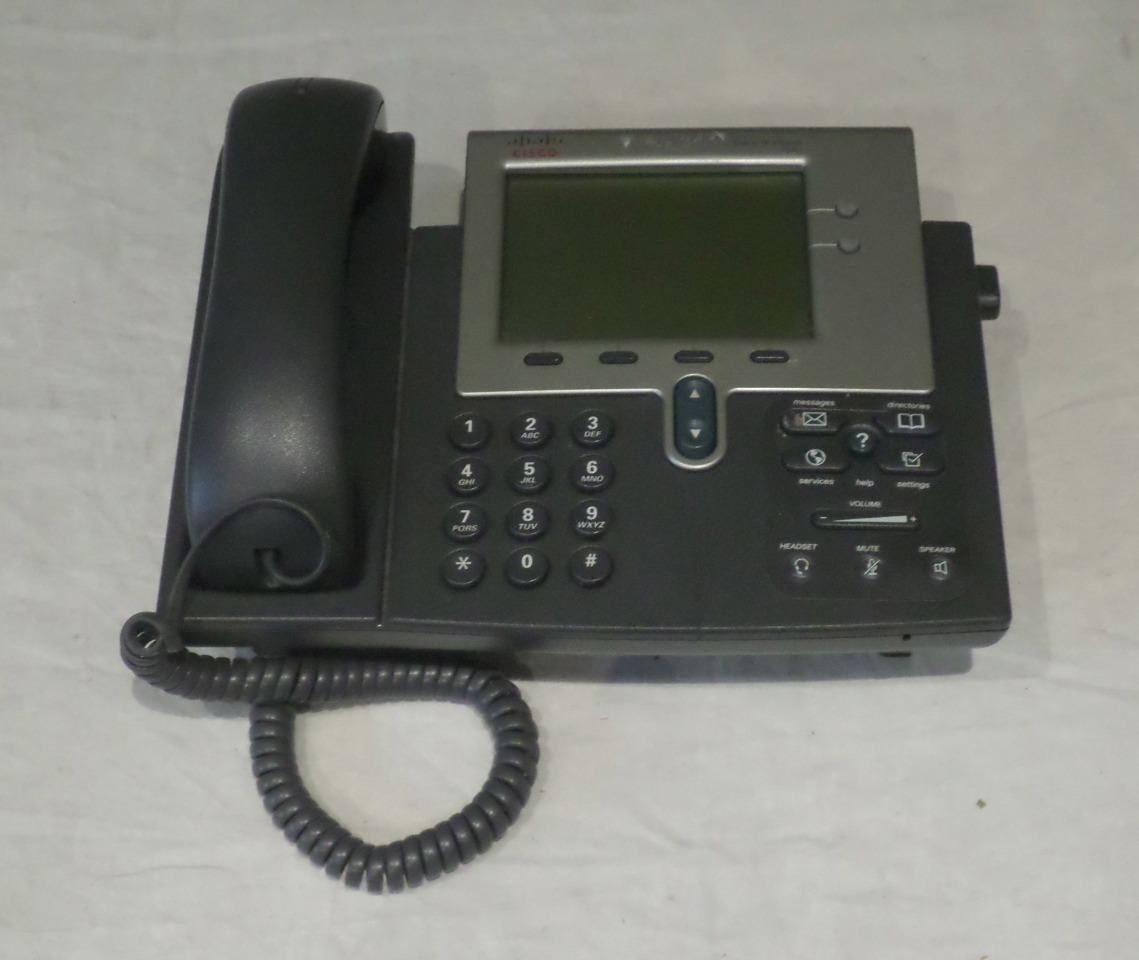 CISCO 7941 G IP PHONE AND HANDSET