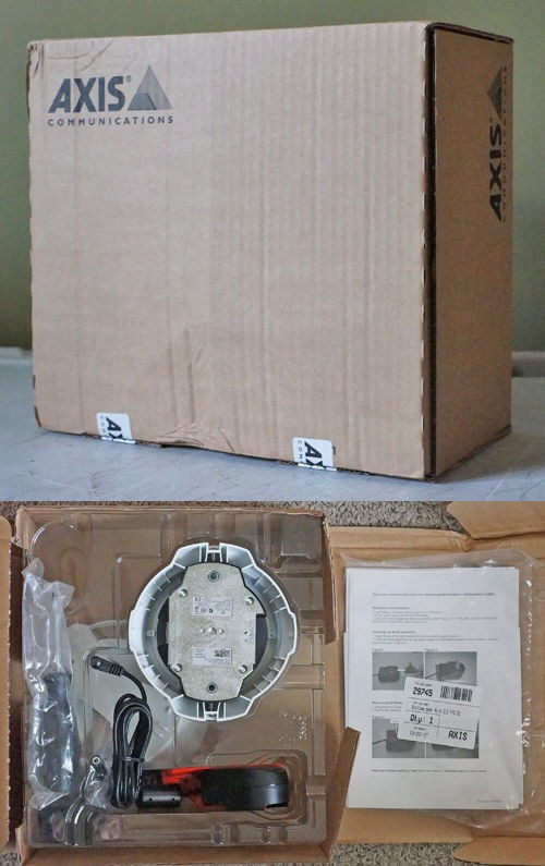 AXIS 212 PTZ NETWORK SECURITY CAMERA PAN TILT ZOOM NO MOVING PARTS BRAND NEW NIB