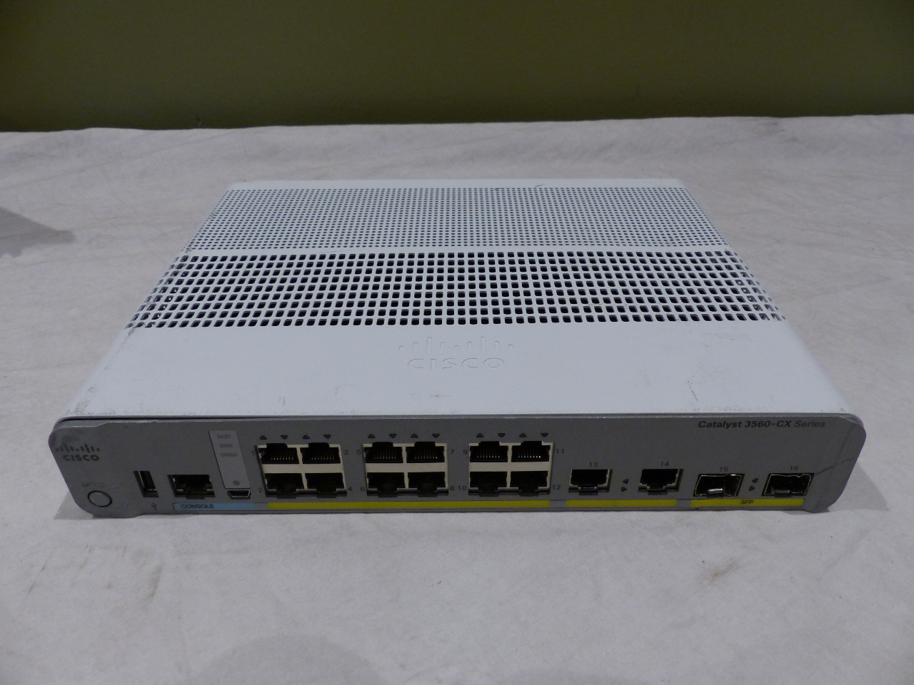 CISCO 3560 12-PORT SWITCH WS-C3560CX-12TC-S