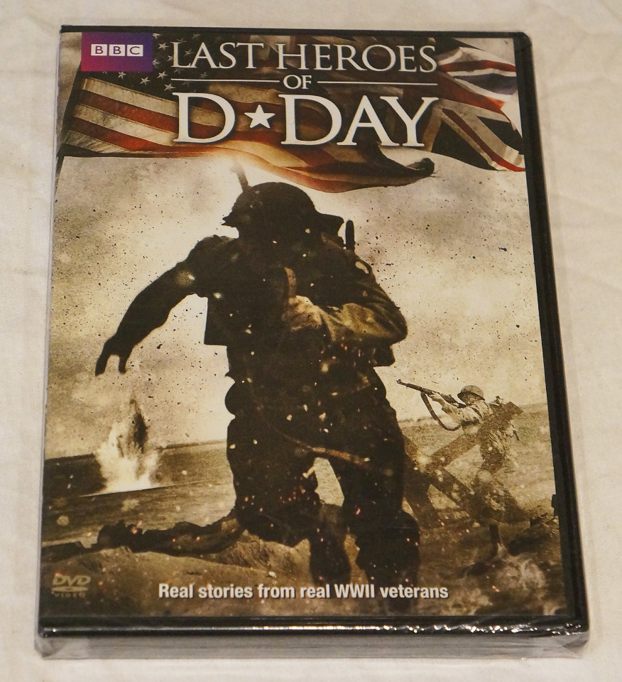 LAST HEROES OF D-DAY BBC DVD NEW / REGION 1