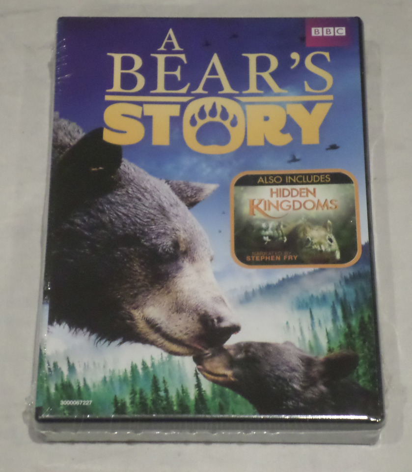 A BEAR'S STORY AND HIDDEN KINGDOMS DVD PACK NEW / SEALED