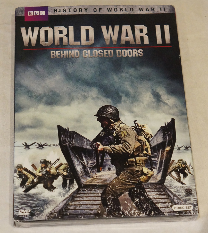 WORLD WAR II BEHIND CLOSED DOORS BBC DVD NEW / REGION 1