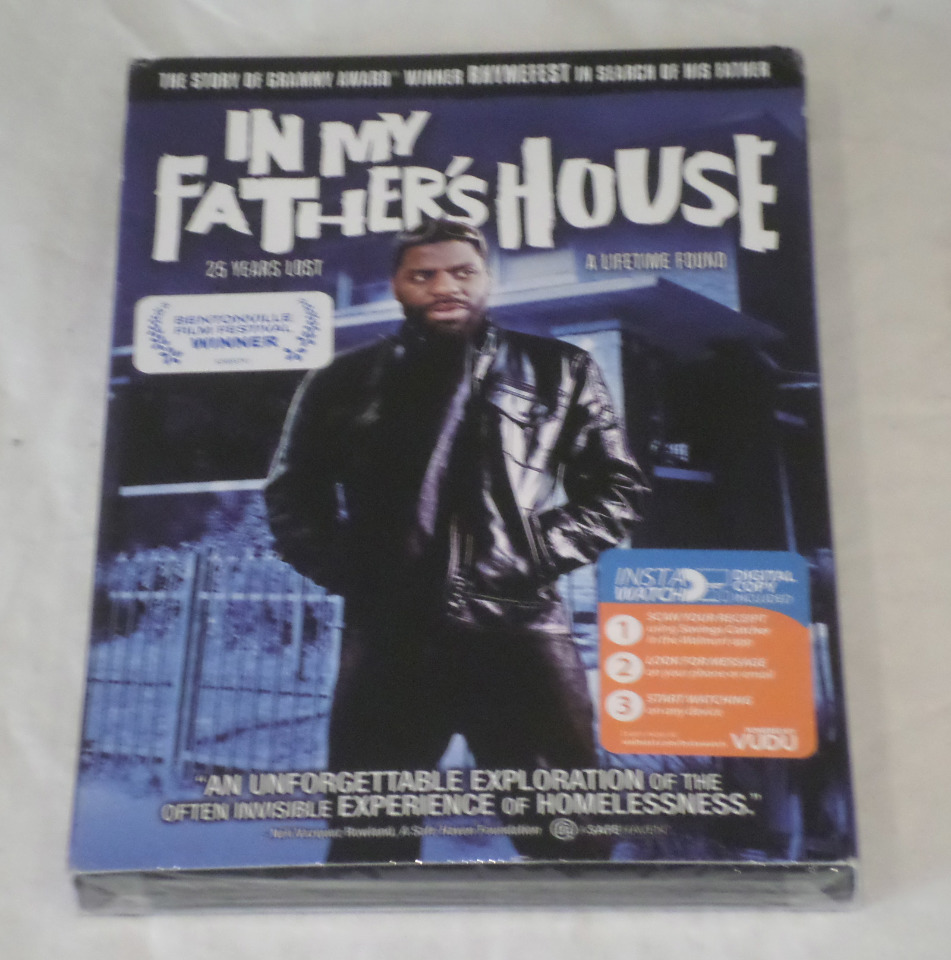 IN MY FATHER'S HOUSE DVD NEW / SEALED