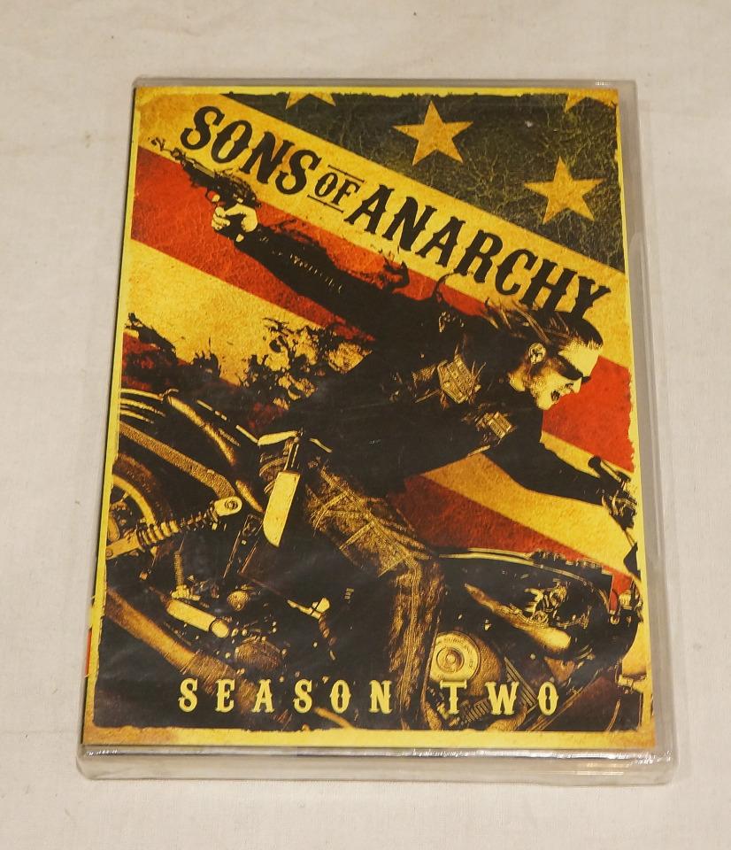 SONS OF ANARCHY: SEASON TWO (SEASON 2) DVD SET NEW
