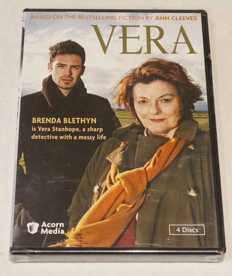 VERA BASED ON THE BOOK BY ANN CLEEVES DVD NEW