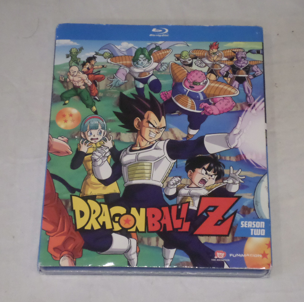 DRAGONBALL Z: SEASON TWO (SEASON 2) EPISODES 040-074 BLU-RAY SET NEW