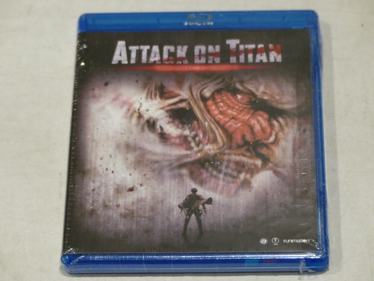 ATTACK ON TITAN BLU-RAY & DVD NEW W/ OUT SLIPCOVER | MDG ...