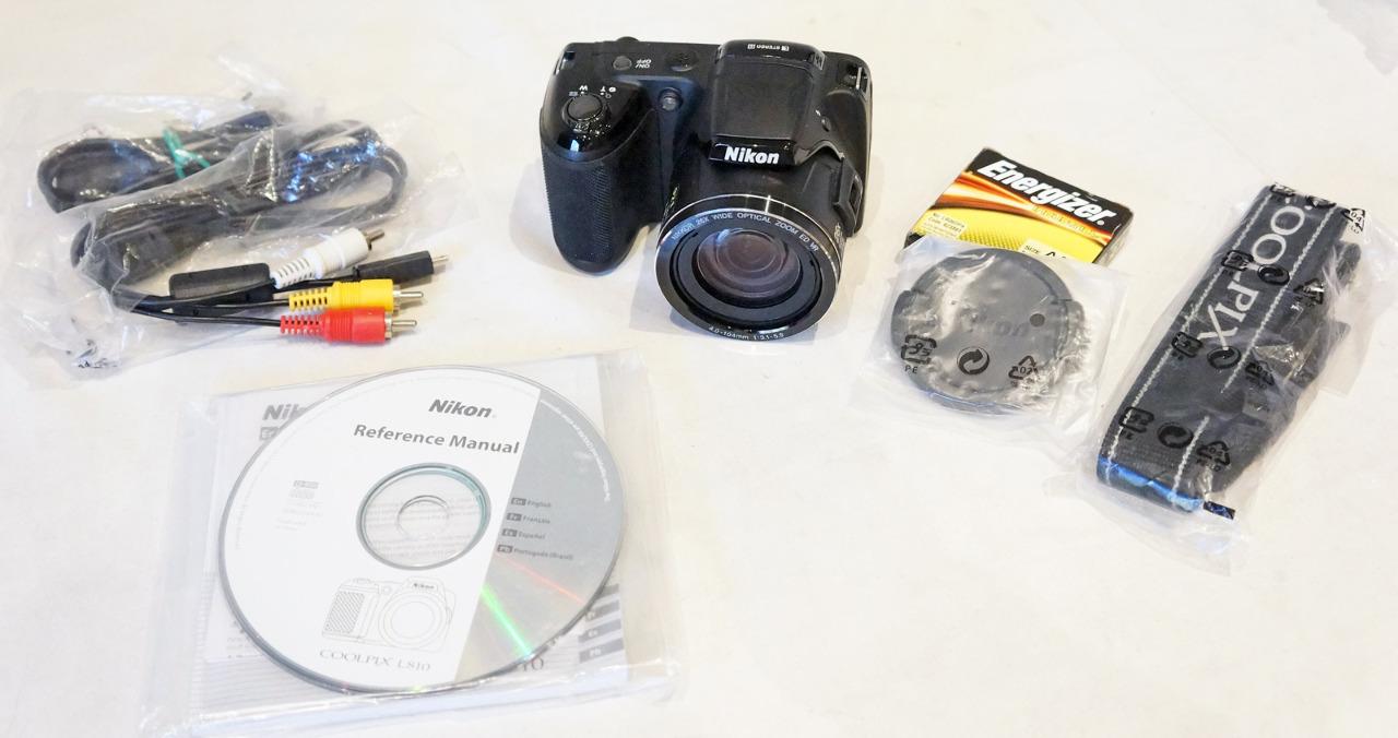 Nikon Coolpix L810 161mp Digital Camera W 26x Zoom 3 Lcd Mdg