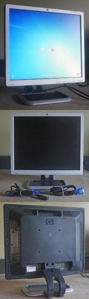 "HP L1910 SILVER 19"" 5MS LCD MONITOR 300 CD/M2 800:1"