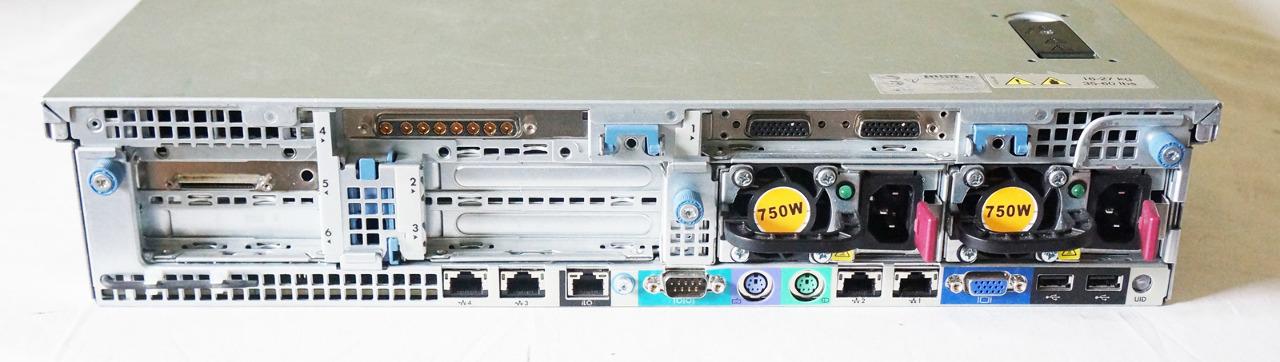 HP PROLIANT DL380 G7 SERVER 583913-001 2* 6-CORE X5650 2 ...