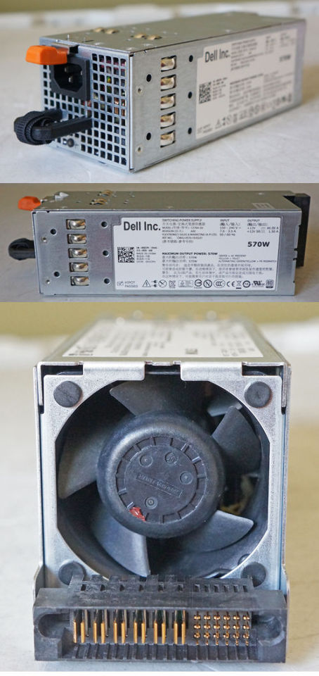 DELL CWA2-0570-10-DL01 POWEREDGE R710/T610 560W SWITCHING POWER SUPPLY  BRAND NEW