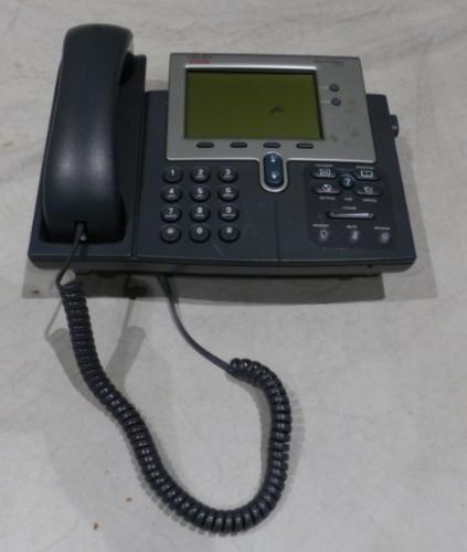 4* CISCO IP PHONE 7942 CP-7942G UNTESTED W/ PHONE HANDSET
