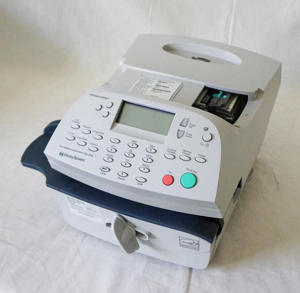 PITNEY BOWES DM125 / DM225 DIGITAL DESKTOP MAILING SYSTEM METER /OUT OF SERVICE
