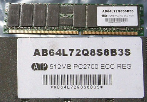 2GB 4*512MB PC2700 DDR ECC REGISTERED SERVER MEMORY RAM