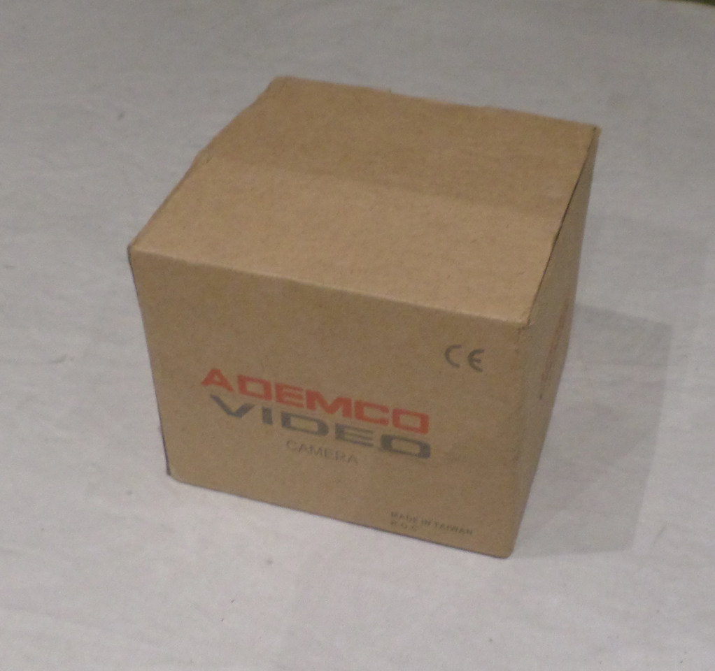 "ADEMCO VIDEO AD3VC4HR 3"" VARIFOCAL DOME CAMERA"