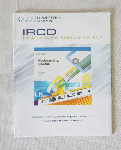 SOUTH-WESTERN CENGAGE LEARNING IRCD INSTRUCTOR'S RESOURCE CD: KEYBOARDING COURSE