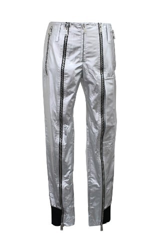PACO RABANNE 14ECPA006P0003001124 SILVER CASUAL PANTS S 40 NEW NWT