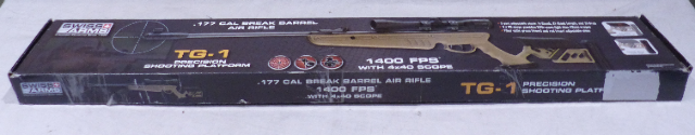 SWISS ARMS TG-1 288735 .177 CAL BREAK BARREL AIR RIFLE