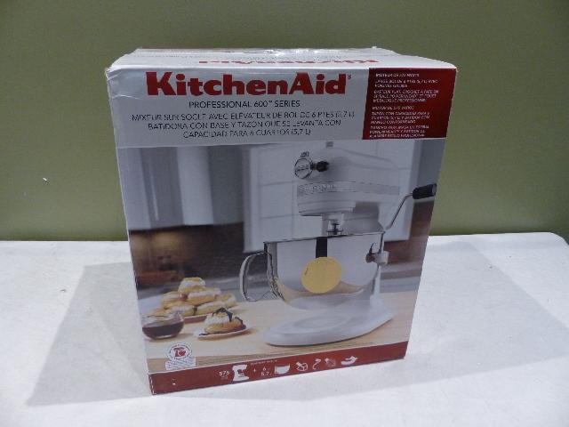 Kitchenaid Pro 600 Series 6qt Majestic Yellow Stand Mixer Kp26m1xmy