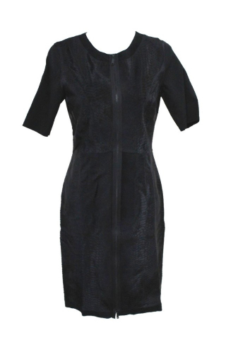ELIE TAHARI E831R604 CORALIE DRESS BLACK SIZE 6